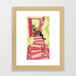 stop & rest Framed Art Print