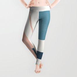Abstract Minimal Shapes 34 Leggings