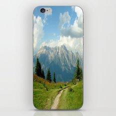 Mountain Range in Austria iPhone & iPod Skin