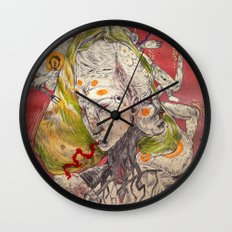 father fucker 2011 Wall Clock