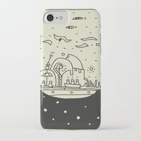ship iPhone & iPod Cases featuring Ship by inktheboot