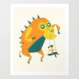 MONSTER (4) Art Print