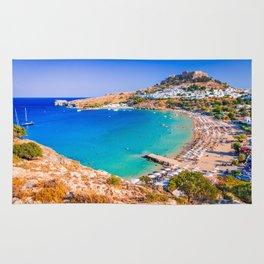 Lindos, Rhodes - Greece Rug