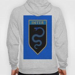 Milan Blue Badge Hoody