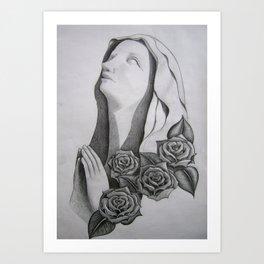 Ave Rosita Art Print