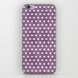 Asanoha Pattern iPhone Skin