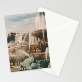 Fountain View 3 Stationery Cards