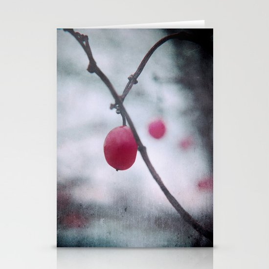 Lonely Winterberry Stationery Cards