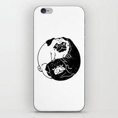 The Tao of Pug iPhone & iPod Skin