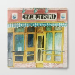 Halibut Point Restaurant Metal Print