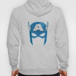 Cap America Mask Hoody