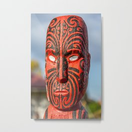 Ta Moko Metal Print