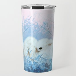 Baby Bun Buns at Dusk Travel Mug