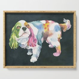 Cavalier King Charles Spaniel Serving Tray