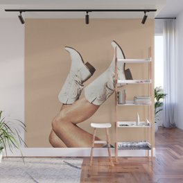 These Boots - Nude Wall Mural