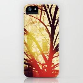'UPPER WEST TREE' iPhone Case