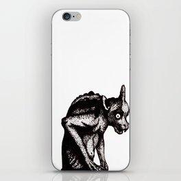 Black Gargoyle iPhone Skin
