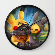 Cosplay Buddies Wall Clock
