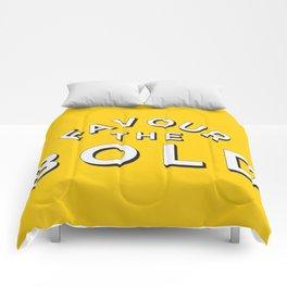 Favour the BOLDER Comforters
