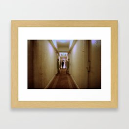 The Haunted Framed Art Print
