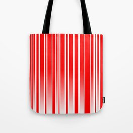 Red Track Tote Bag