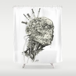 Growing Insanity Shower Curtain