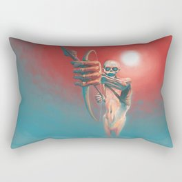 The Archer of the Death Rectangular Pillow