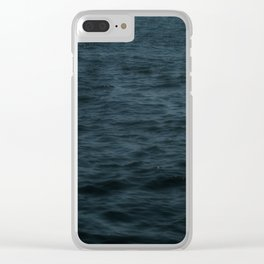 Stormy Thoughts Clear iPhone Case