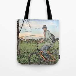 After day work Tote Bag