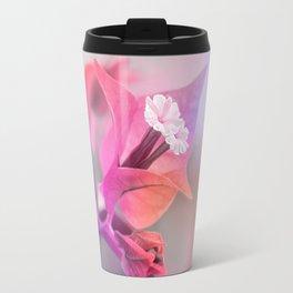 Bougainvillea macro 019 Travel Mug