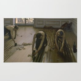 Gustave Caillebotte - The Floor Planers Rug