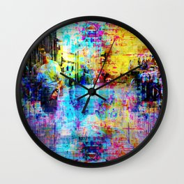 """""""In my mind And nailed into my heels All the time"""" Wall Clock"""