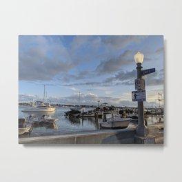 Balboa Island Coast Metal Print