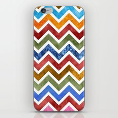 Chevrons in Color iPhone & iPod Skin