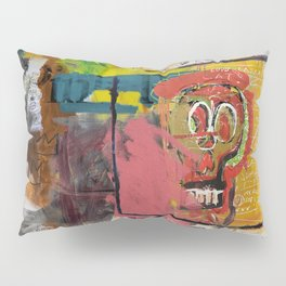 Skull Head Pillow Sham