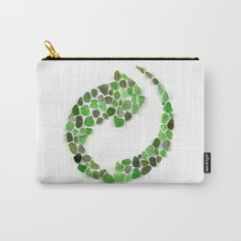 Sea glass - recycled Carry-All Pouch