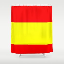 Flag of spain 4-spain,espana, spanish,plus ultra,espanol,Castellano,Madrid,Barcelona Shower Curtain