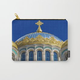 Marine Kathedrale in Kronstadt / Saint Petersburg Carry-All Pouch
