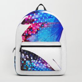 Big Blue Butterfly Backpack