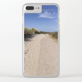 Through the Dunes Clear iPhone Case