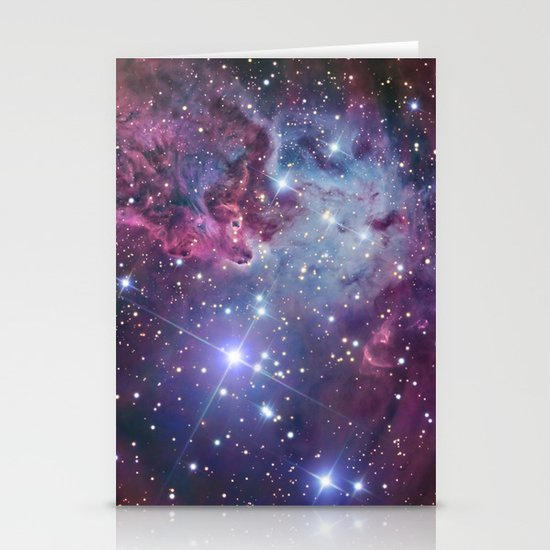 Nebula Galaxy Stationery Cards