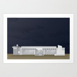 White Hart Lane Art Print