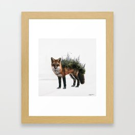 grow into nature Framed Art Print