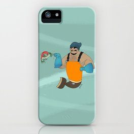 MerFisherman (Alaska Edition) iPhone Case