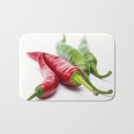 Mixed Peppers 2 Bath Mat