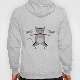Fitness for cats Hoody
