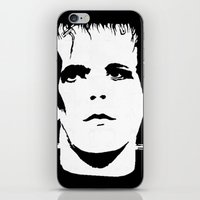 lou reed iPhone & iPod Skins featuring Lou Reed Reanimated  by Spirit Monster