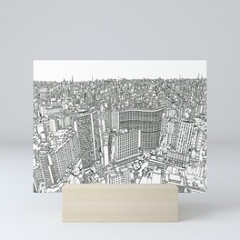 SAO PAULO Mini Art Print