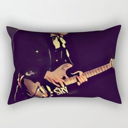 Stevie Ray Vaughan - Graphic 1 Rectangular Pillow