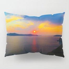 Fira,Sunset Pillow Sham